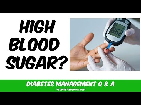 How Do I Quickly Bring Down My Blood Glucose (Lower High Blood Sugar)