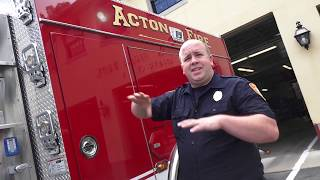Acton Fire Department: Tour of New Fire Engine 21