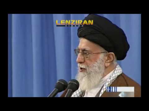 Part of Ayatollah Khamenei about new president of United States