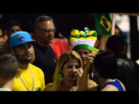 Brazil vs Croatia : Post Match Jollification on 12.06.2014 (Unedited)