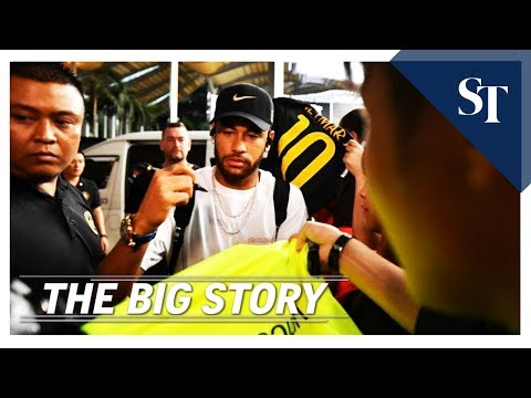 THE BIG STORY: Brazil football superstar in Singapore | The Straits Times