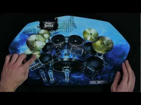Paper Jamz Pro Drums Video #1- Let's get started!
