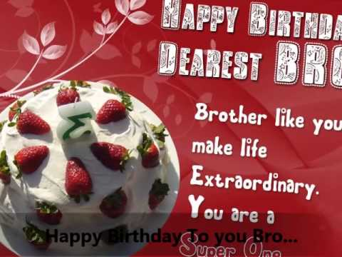Happy Birday Brother Wishes Pictures
