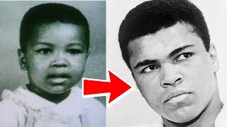 Muhammad Ali from 3 to 74 years old