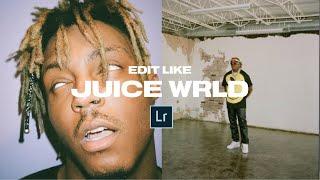 Edit like JUICE WRLD + Mobile Preset