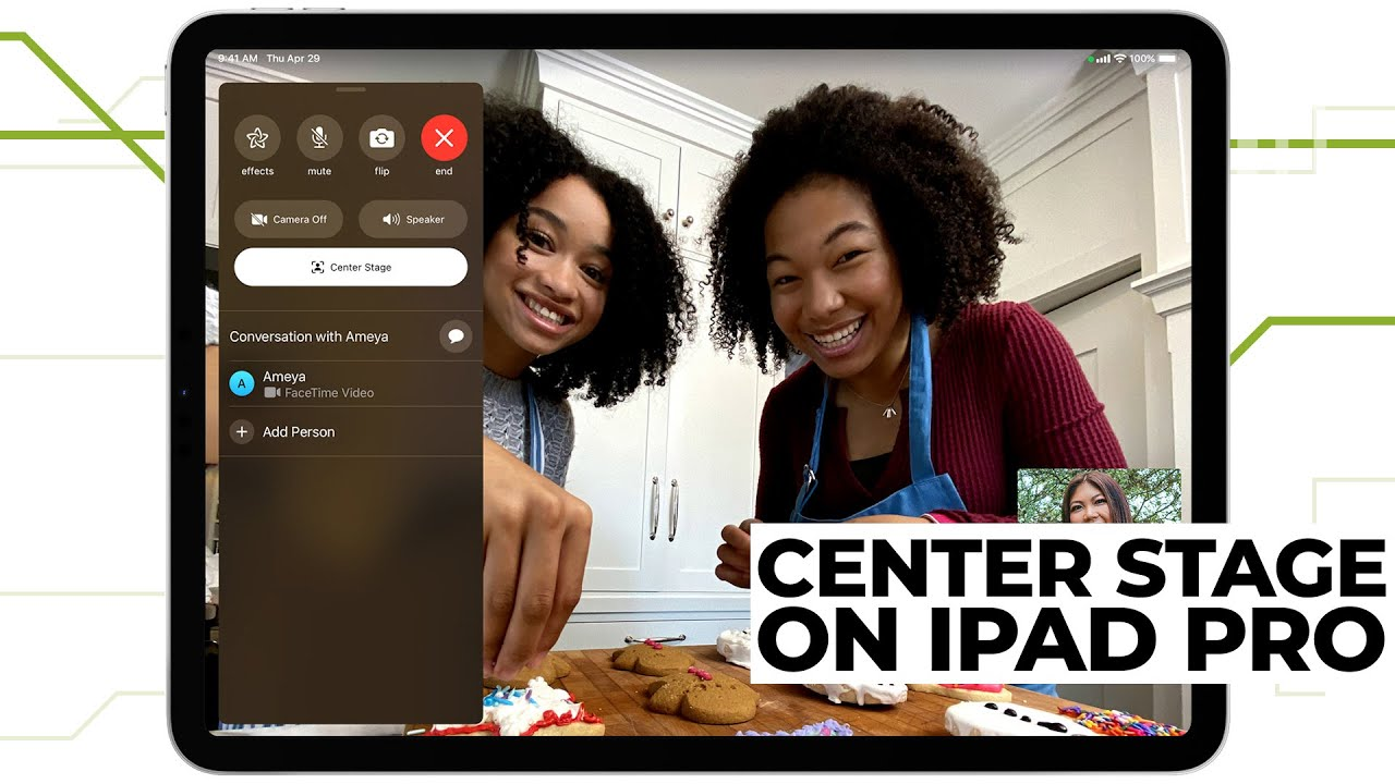 How to Use Center Stage for FaceTime on an iPad Pro  |  Quick Fix