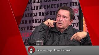 Najava emisije BEZ USTRUČAVANJA - Milan Lane Gutović