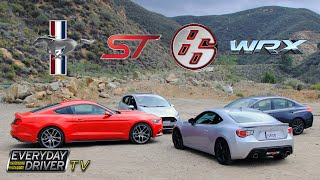 Ecoboost Mustang vs. WRX vs. FRS vs. Fiesta ST – Greatest Hits? – Everyday Driver