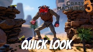 Crazy Machines 3 Gameplay- Quick Look- Rube Goldberg Machines