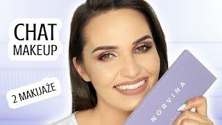 ✨ PALETA NORVINY I NOWA MARKA KOSMETYKÓW | Chat Makeup ✨