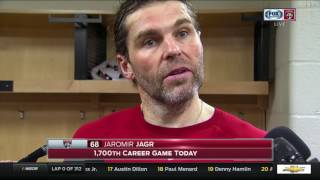 Jaromir Jagr -- Florida Panthers at Pittsburgh Penguins 03/19/2017