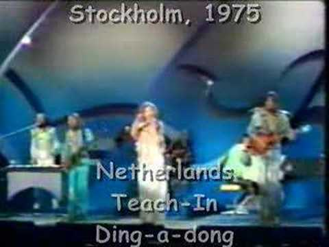 Winners of Eurovision Song Contest 1970-1979