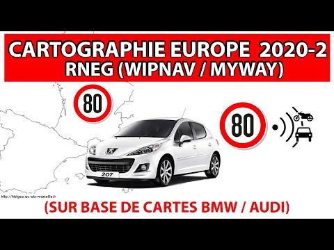 Mise à Jour/upgrade Cartographie 2020-2 RNEG (MyWay/WipNav) Peugeot/Citroën (Non Officiel)