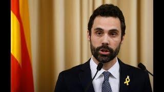 Roger Torrent propone a Puigdemont y ofrece un encuentro a Rajoy para desbloquear la investidura