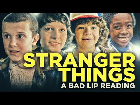 """STRANGER THINGS: A Bad Lip Reading"" (featuring Gillian Jacobs as Nancy)"