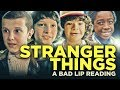 "watch he video of ""STRANGER THINGS: A Bad Lip Reading"""