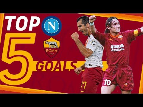 TOP 5️⃣ GOALS   NAPOLI v ROMA