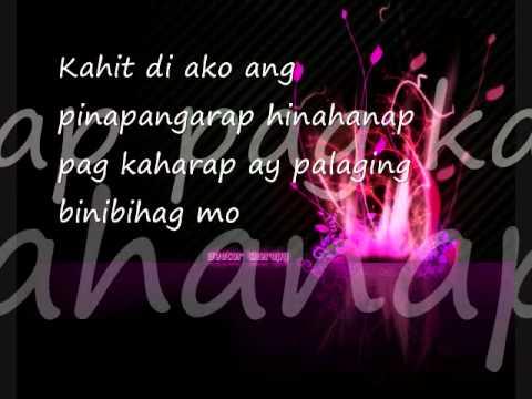 Ipagpatawad mo with lyrics