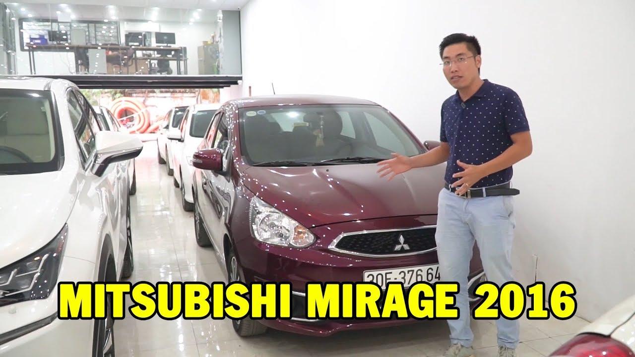 ✅ Mitsubishi Mirage 2016 – Xe nhập giá cực rẻ, xe tốt nhưng ít ai biết