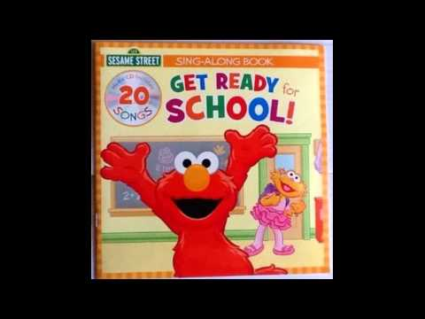 Sesame Street Get Ready For School it's time to clean up