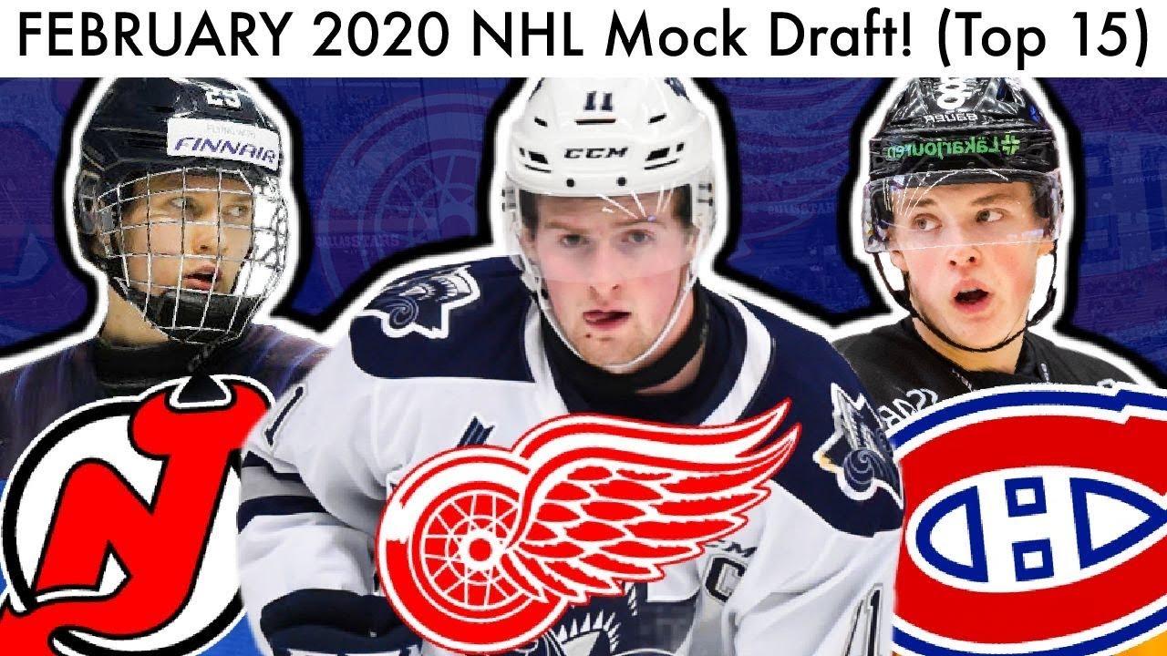 2020 nhl mock draft
