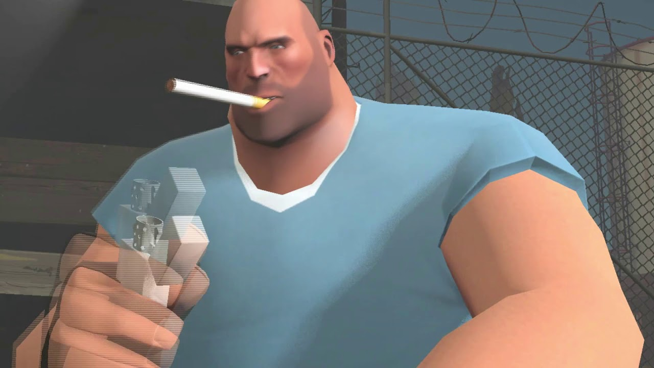 Heavy Smokes A Sherm And Fucking Dies SFM