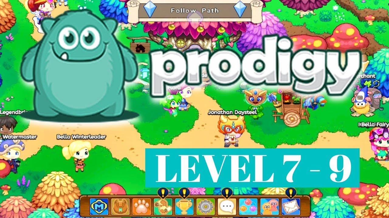 PRODIGY Math Game. Level 7-9 - YouTube
