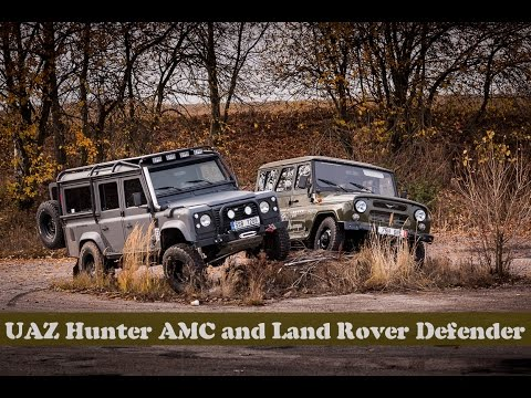 UAZ 3151 Hunter AMC And Land Rover Defender