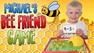 Michael Gets Ready for Kindergarten! Bee Friends Learn Math
