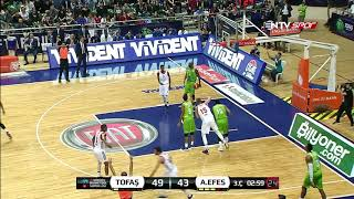Basketbol Süper Ligi 7. Hafta: Tofaş - Anadolu Efes
