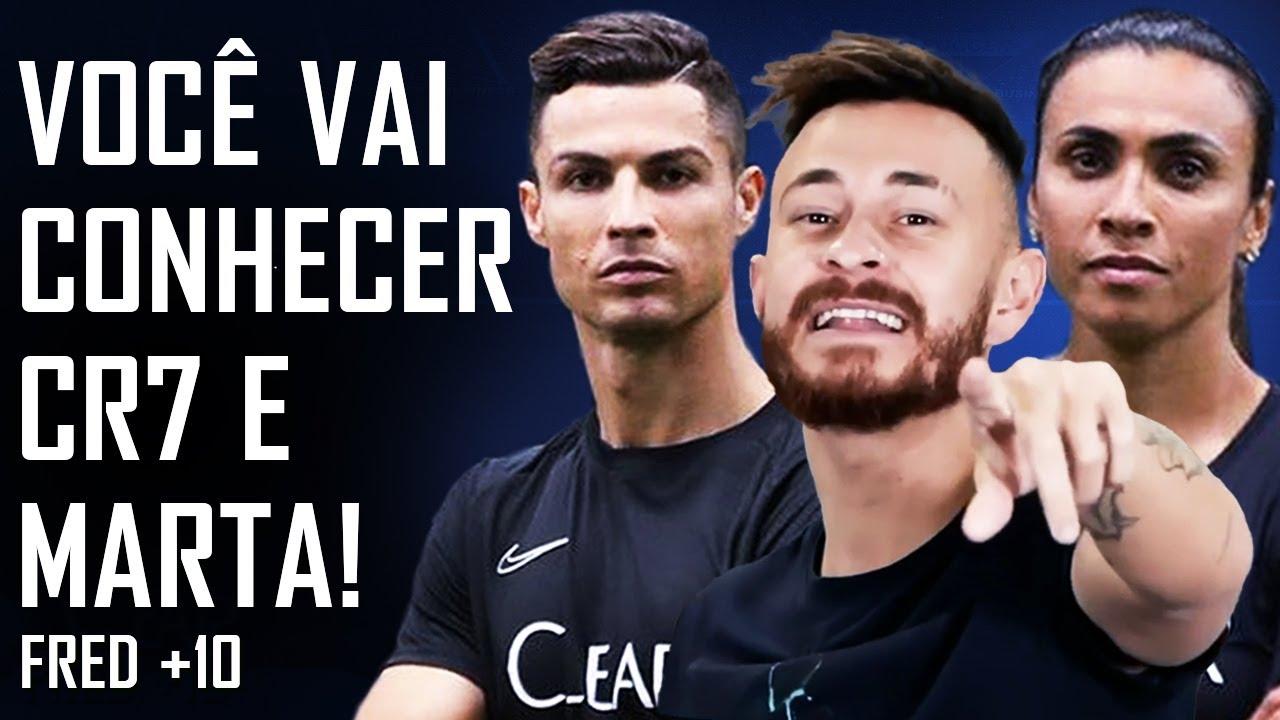Vamos escolher um fã para conhecer Cristiano Ronaldo e Marta