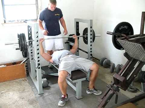 Bench Press 300 X 8 Reps At 225 Lbs Youtube