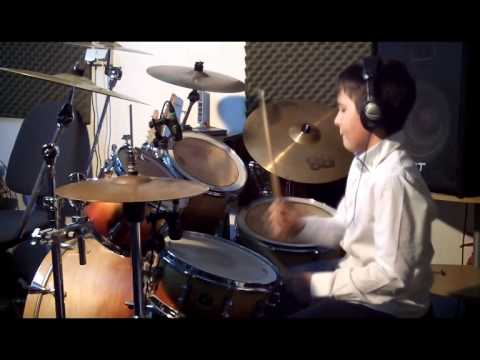 Queen  - We Will Rock You (Drum Cover by Noah)