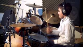 Queen We Will Rock You Drum Cover by Noah