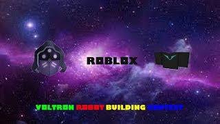 Roblox Challenge - Voltron Robot Building Contest
