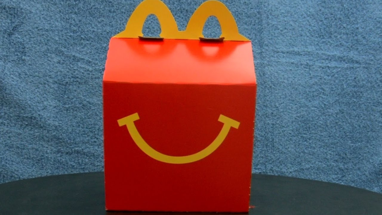 Très McDonald's Happy Meal Box Featuring The Smurfs 2 (2013) _ My Video  YI71