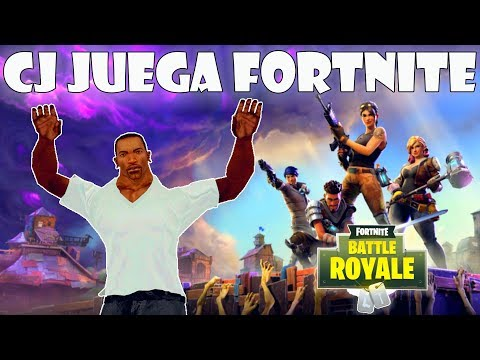 GTA San Andreas Loquendo - CJ Juega Fortnite