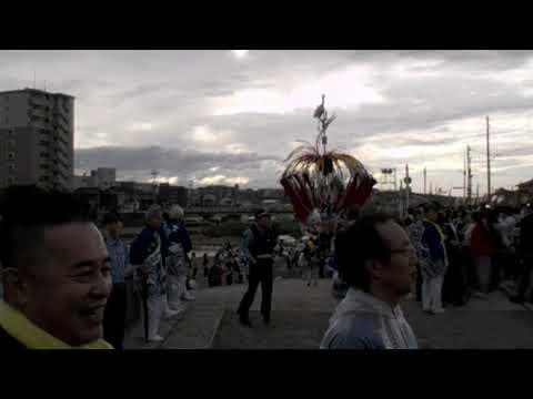 2019年 川渡り神幸祭12 (5月18日) (HD)