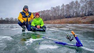 АНТИ ЖЕРЛИЦЫ НАЧАЛО! | Зимняя Рыбалка с сыном