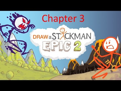 Draw A Stickman Epic 2 Walkthrough Chapter 3 The Ink Mine Youtube