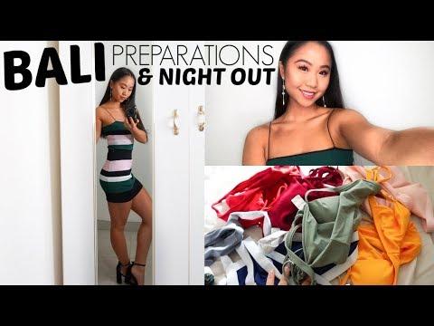 BALI PREPARATIONS! Eyelash Extensions & Night Out // VLOG | THERESATRENDS