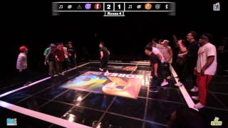 Jinjo vs Massive Monkees | R16 Korea 2012 World Finals Bboy Crew | Semi Final