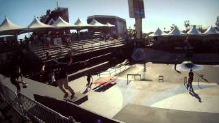 X Games Los Angeles 2012: GoPro Skate Street Course Preview
