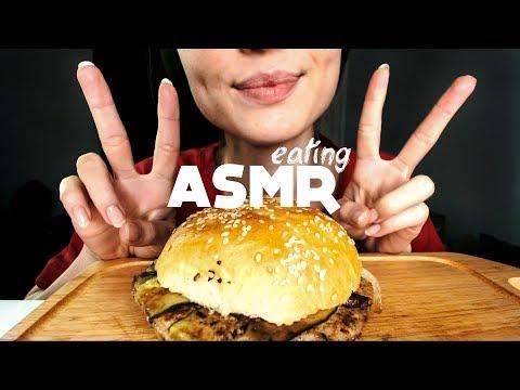 АСМР Быстрый Итинг Бургер / ASMR Fast Eating Burger