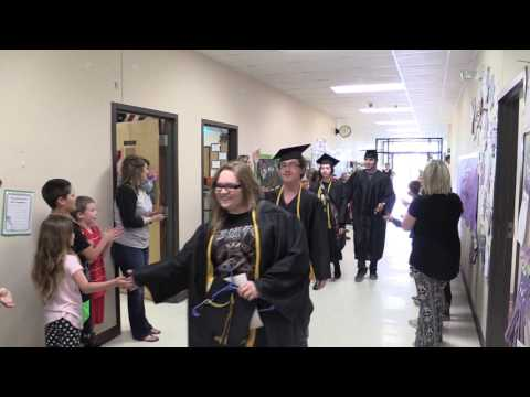 Salem Schools Graduation Walk 2016