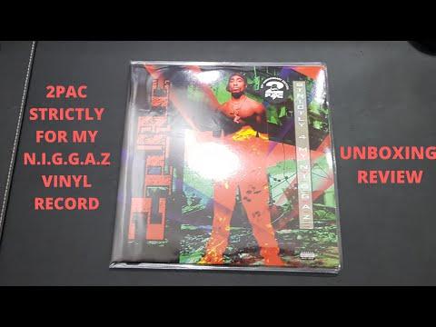 2pac Strictly For My N.I.G.G.A.Z hip hop vinyl record review: tupac vinyl records