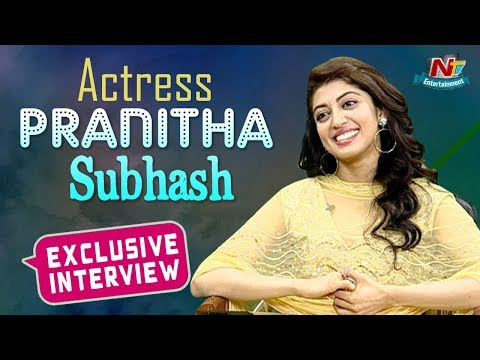 Pranitha Subhash Exclusive Interview | Hello Guru Prema Kosame | NTV Entertainment