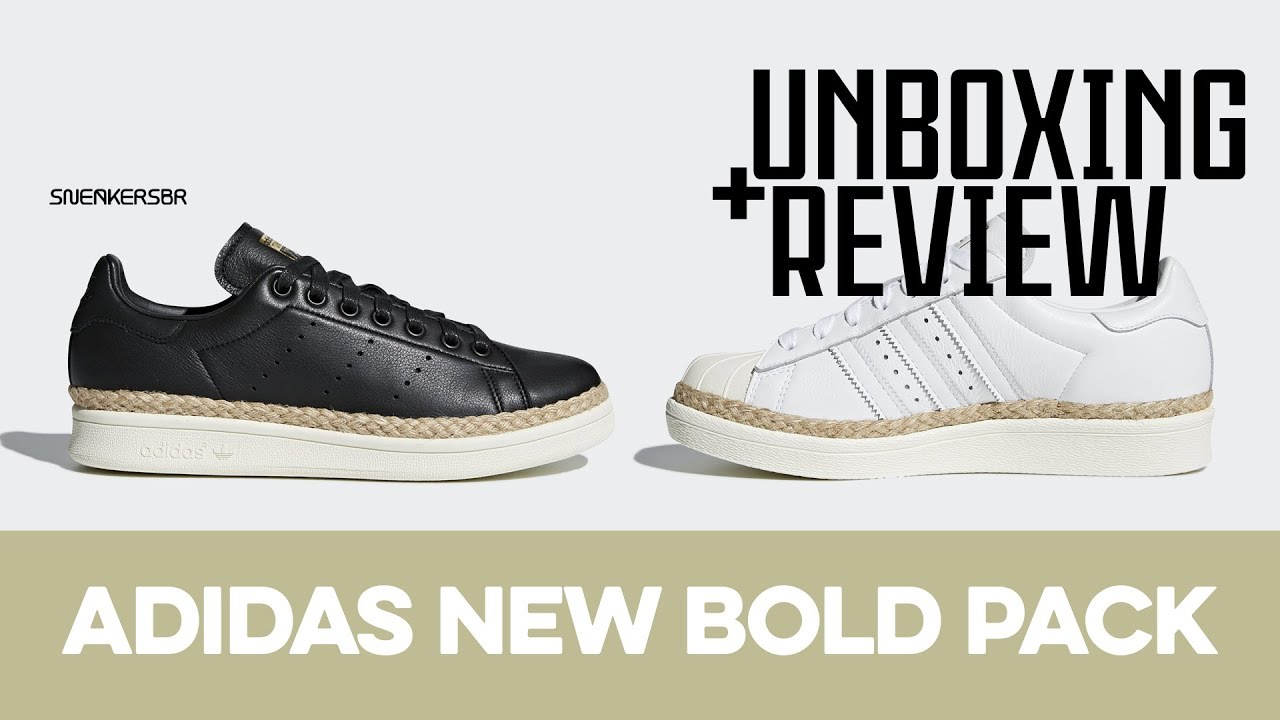UNBOXING+REVIEW - adidas New Bold Pack
