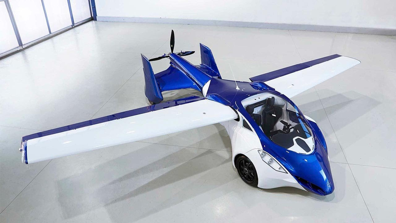World\'s first flying car to debut in Monaco - YouTube