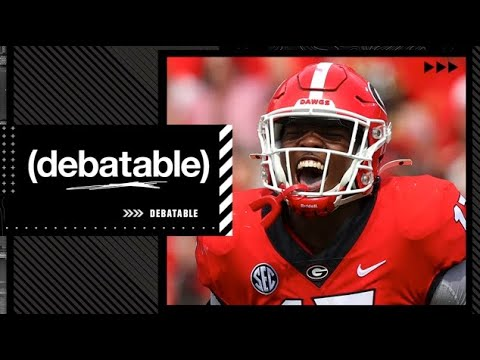 Can a team other than Georgia win the National Championship?   (debatable)